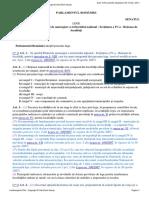 Lege Nr. 351 Din 2001 Privind Aprobarea Planului de Amenajare a Teritoriului Naţional - Secţiunea a IV-A - Reţeaua de Localităţi