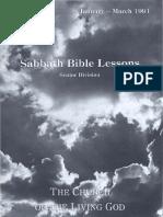 SDARM Qtr. 1 1991 Bible Study