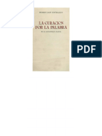 Pedro Lain La Curacion Por La Palabra en-la-Antiguedad-clasica
