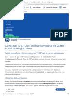 Concurso TJ SP Juiz_ análise completa do último edital da Magistratura.pdf