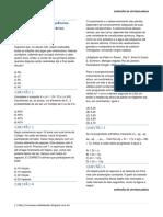 Fórmula Do Termo Geral e Interpolação Geométrica