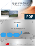 Pengaruh Pengolahan Tanah Terhadap Kadar Air Tanah Di