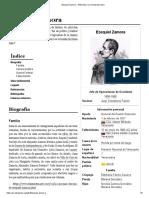 Ezequiel Zamora - Wikipedia, La Enciclopedia Libre