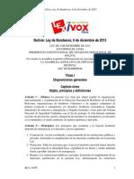 Ley de Bomberos de Bolivia - Nº 449