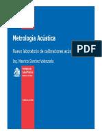 Metrología Acustica
