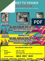 0818-0927-9222 (WA) | Harga Bracket Tv 50 Inchi Jakarta, Bracket TV Yogies