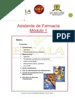 Modulo 1 de Farmacia
