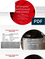 Ammonium Hidroksida