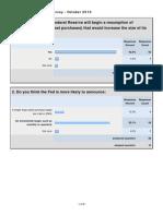 CNBC Fed Survey - October 11, 2010