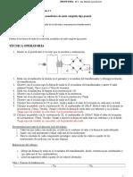 Prácticas de Laboratorio 3. Rectificadores