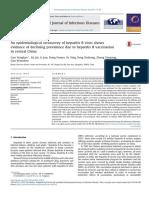 An Epidemiological Serosurvey of Hepatitis B Virus