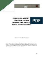 Vastey y Firmin Intelectuais Haiti_Peria