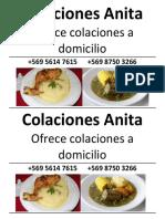 Colaciones Anita