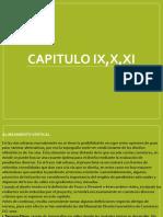 Capitulo Ix,x,Xi