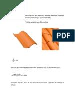 Memória Trabalho Cálculo Telhado de Madeira