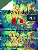 Valores Del SE