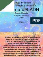 Historia del ADN biotecnologia Bucco Keipert