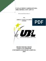 Perecanaan Rem Cakram Pada Honda City 1497cc .PDF