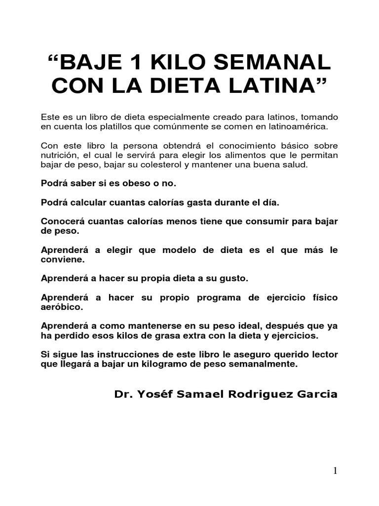 Dieta hipocalorica 800 calorias pdf
