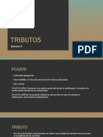 TRIBUTOS y Relación Jurídica Tributaria