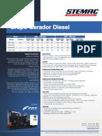 Gerador Diesel 50Hz Pt FPT