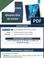 Disoluciones y Gases