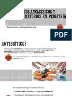Antibioticos,Anelgesicos y Antiinflamatorios en Pediatría
