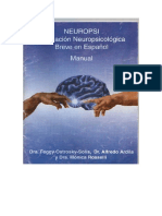 Neuropsi Manual