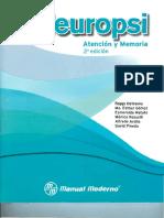 Manual Memoria y Atencion Neuropsi