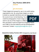 Serpentine Gallery Pavilion 2000-2010 Image Resource