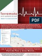 Terremoto Noroeste Haiti 07-10-18 IBT