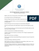 Mayor Emanuel 2019 Budget Address