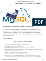 How to Migrate From MySQL to MariaDB on Linux _ Unixmen