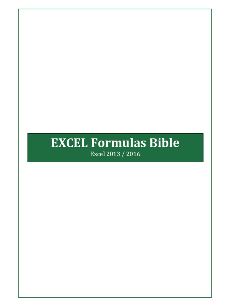 excel 2013 bible pdf