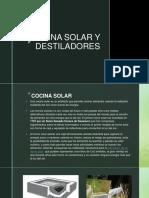 Cocina Solar y Destiladores