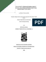 Perhitungan Biaya Produksi Berdasarkan Probabilitas Lama Operasi Pembangkit Pada Sistem 500 Kv Jawa Bali