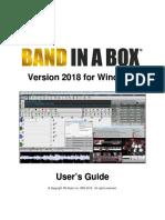 Bandinabox Win 2018 Manual
