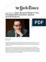 Education+Dept.+Reopens+Rutgers+Case+Charging+Discrimination+Against+Jewish+Students
