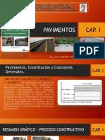 Clase 1. Pavimentos, Constitución y Conceptos Generales