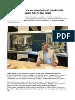 Investire a Dubai, Tutte Le Opportunità Con Sergio Alberti Real Estate