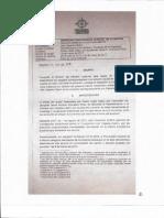 Sentencia de la Procuraduría sobre denuncia de manipulación de testigos