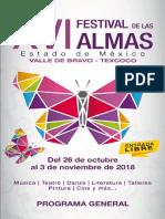 FESTIVAL DE LAS ALMAS 2018