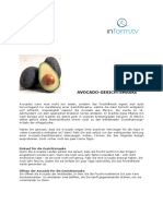 0812 Avocado Maske
