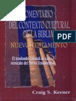 Contexto Cultural Del Nuevo Testamento