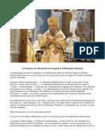 Panagiotis Ant. Andriopoulos - A l'intention du Métropolite de Zarapojié et Melitoupolis (Ukraine)