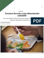 Tenemos Derecho a Una Alimentación Saludable _ Ciencia _ EL PAÍS