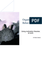 6564599 Organisational Behaviour Motivation Theories