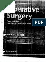 Rob smith operative ENT