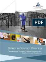 Safety in Contract Cleaning