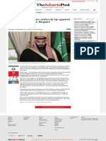 Saudi Crown Prince Ordered Op Against Missing Journalist_ Report - World - The Jakarta Post